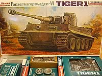 Bandai Tiger-1 1/15th Radio Controlled Model Tank Kit