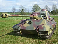 King Tiger 1/4th scale RC model