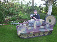 1/4th Scale King Tiger RC Tank