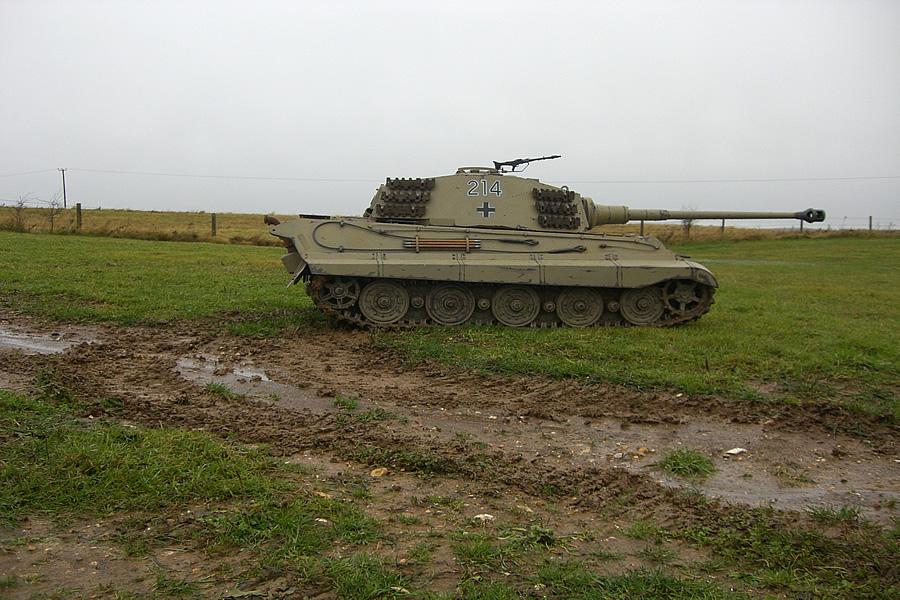King Tiger B on Rc Tank Gearbox