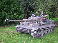 1/4th Scale Tiger 1