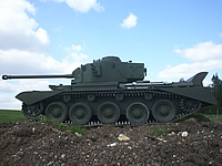 1/6th Scale Comet British WW2 RC Tank