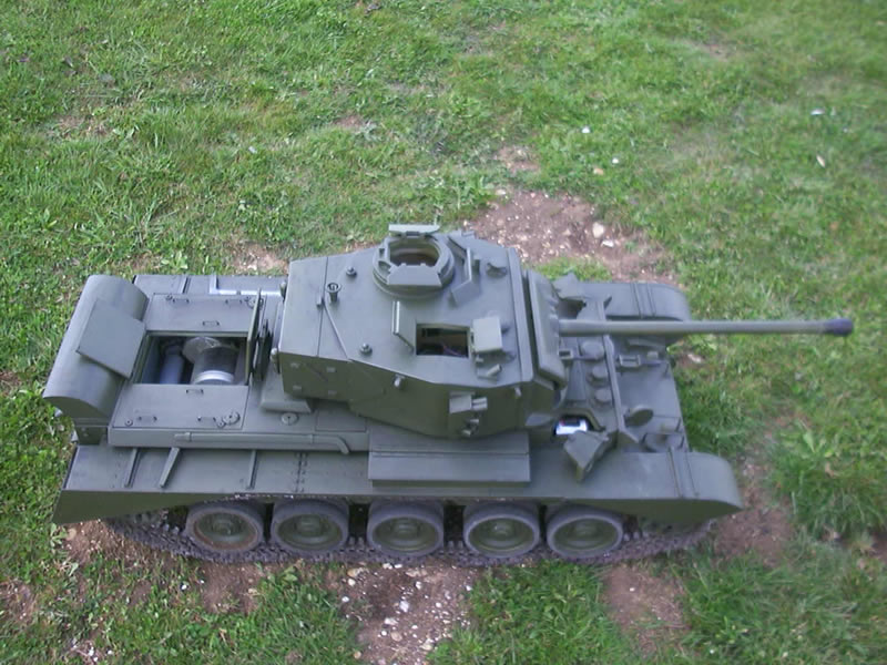 radio controlled model tanks british comet