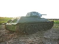 T34/76mm 1/6th RC Model Tank