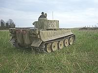 Super Detailed Early Tiger 1, at Kursk