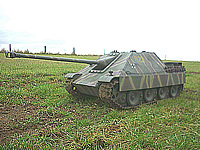 Jagdpanther 1/6th RC Tank