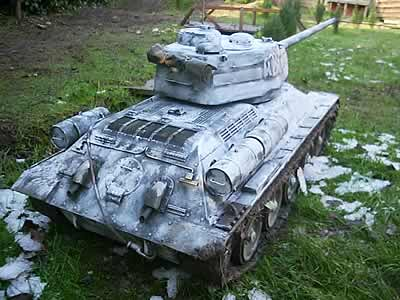 russian t 34 tank for sale