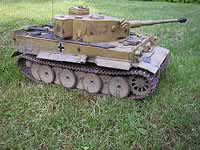 Tamiya Tiger-1 1/16th RC Model Tank