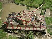 Tiger 1 1/6th RC Model Tank