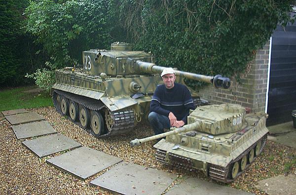 Радиоуправляемые модели танков (Модель танка Тигр) - настоящее.